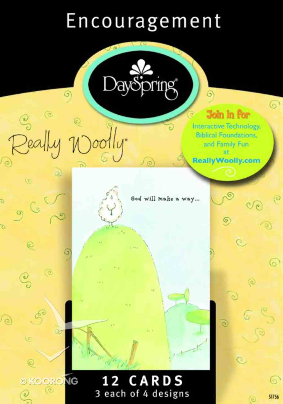 Boxed Cards Encouragement: Really Woolly Box