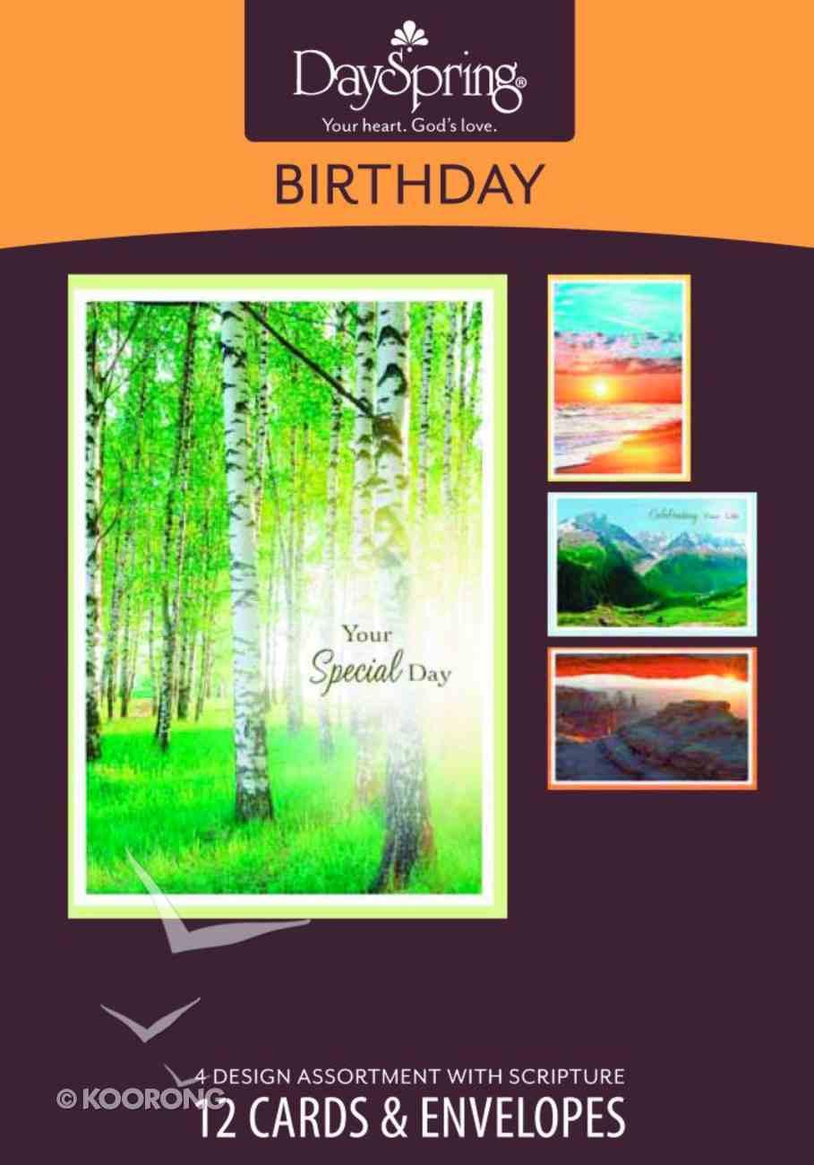 Boxed Cards Birthday: Majestic Light Box