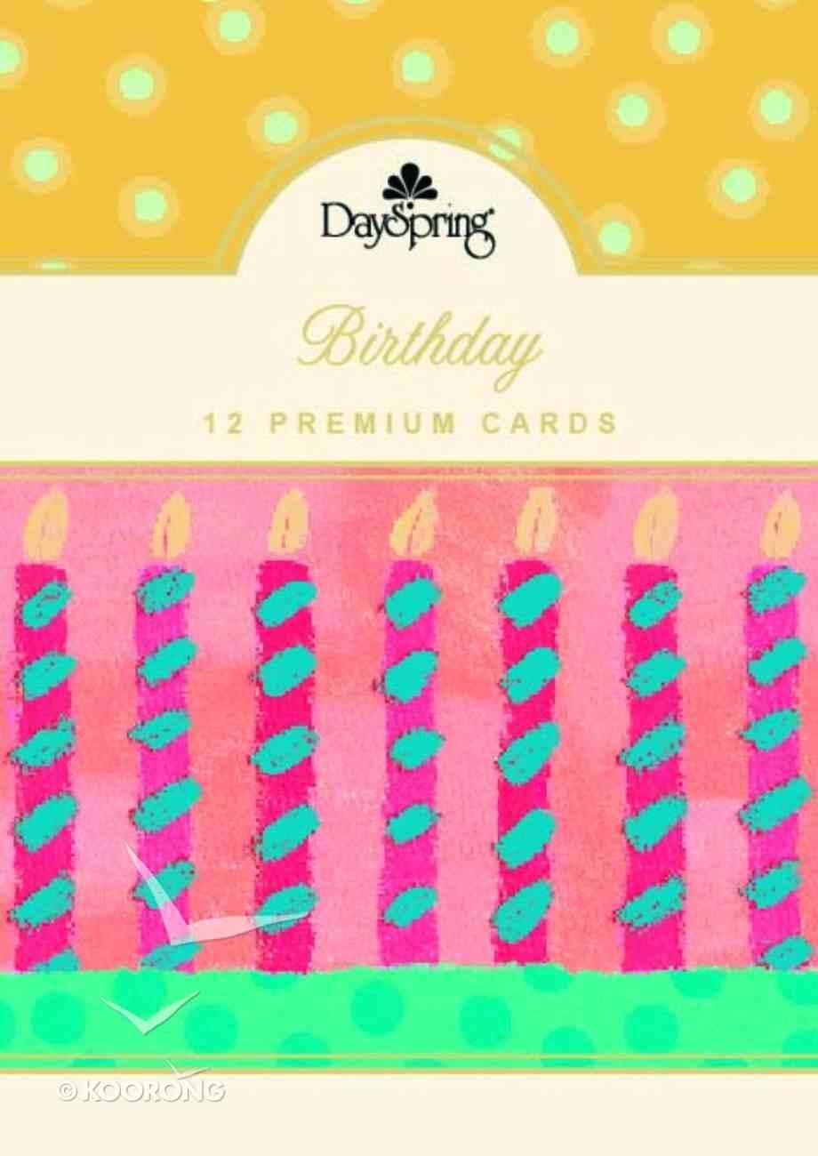 Boxed Cards Birthday: Birthday Celebrate Box