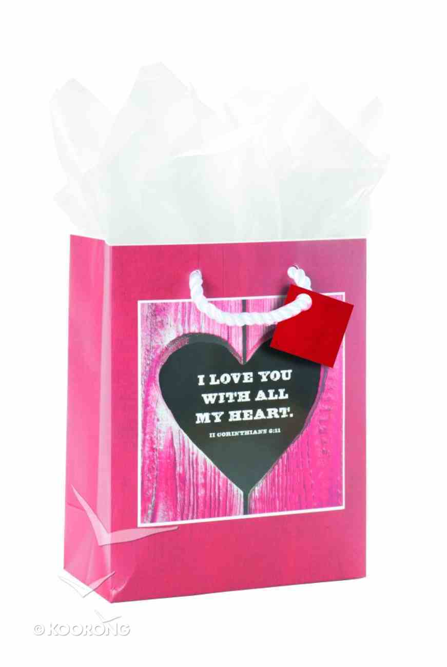 Gift Bag: New With All My Heart (Incl Tissue And Gift Tag) Stationery