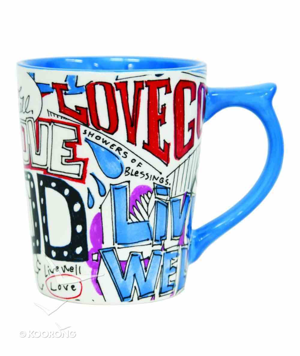 Coffee Mug: Live Well (Matthew 22:37) Homeware