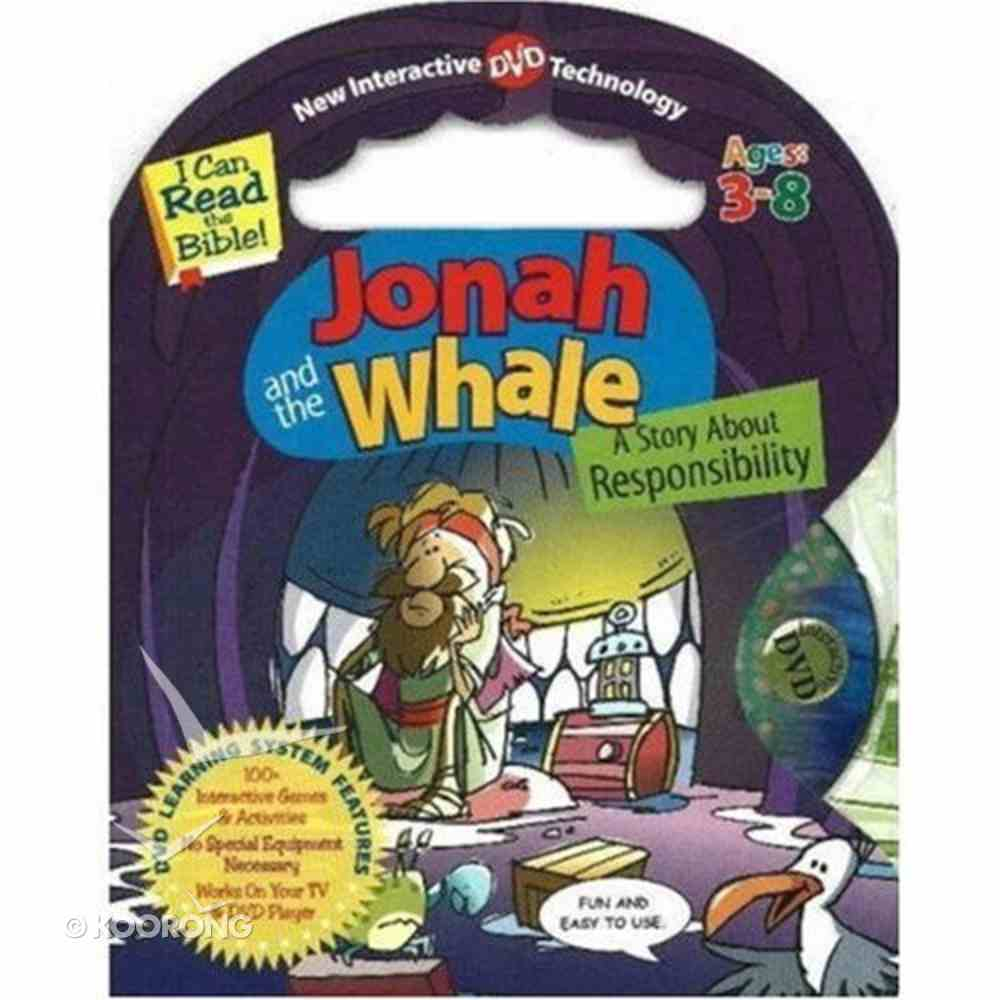 Jonah and the Whale ; I Can Read the Bible (With DVD) (I Can Read The Bible Series) Board Book