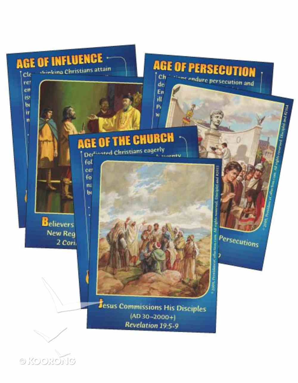 Dlc C5: Following the Faithful Bible Cards Ages 10-12 (Christian Champions) (Discipleland Level 5, Ages 10-12, Qtrs Abcd Series) Pack