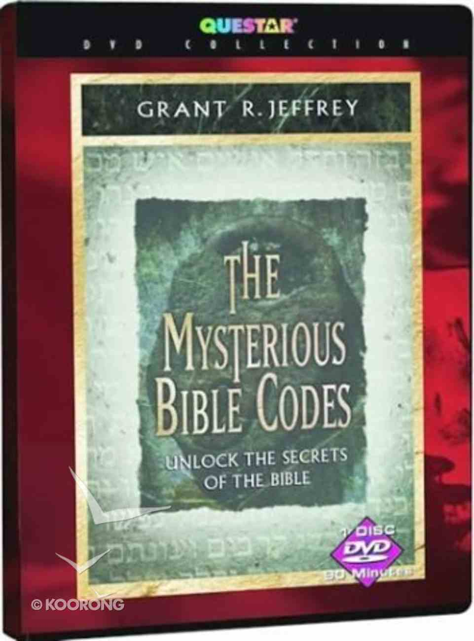 The Mysterious Bible Codes DVD