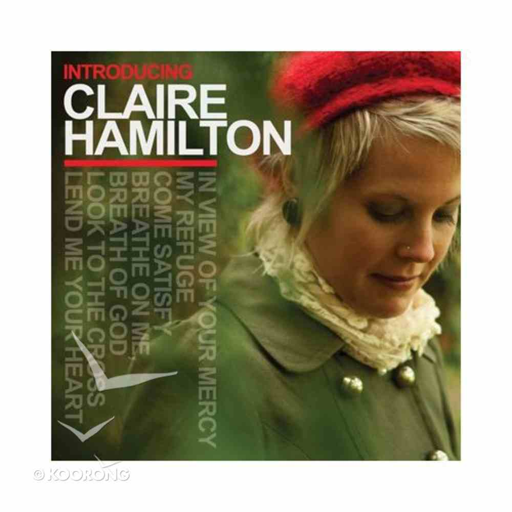 Introducing Claire Hamilton CD