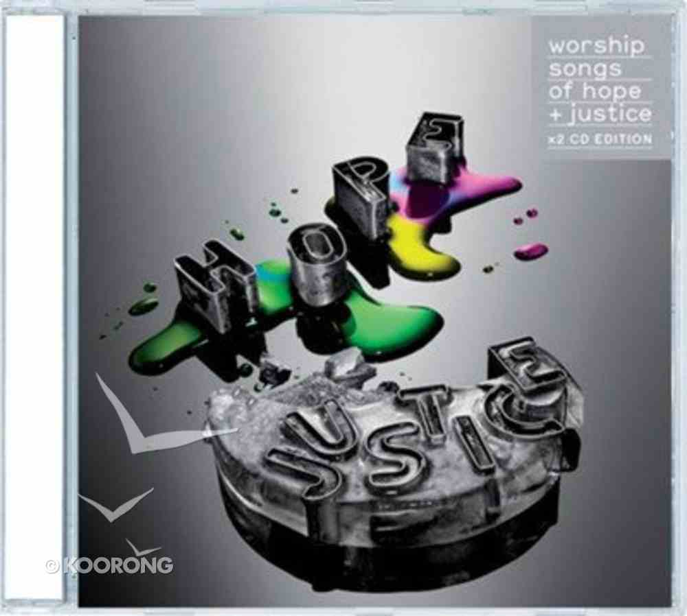 Worship Songs of Justice and Hope Double CD CD
