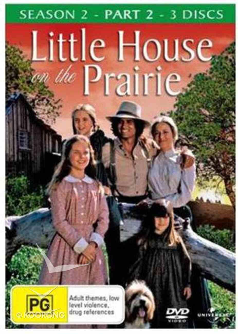 Season 2 Part 2 (3 Discs) (#2.2 in Little House On The Prairie Series) DVD
