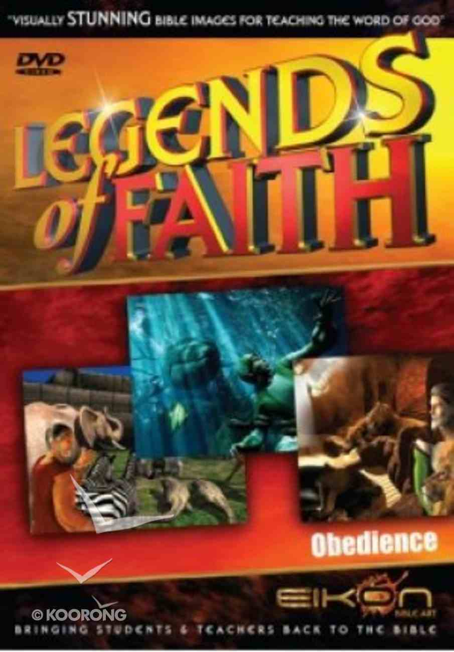 Obedience (DVD Rom) (Legends Of Faith Dvd Series) Dvd-rom