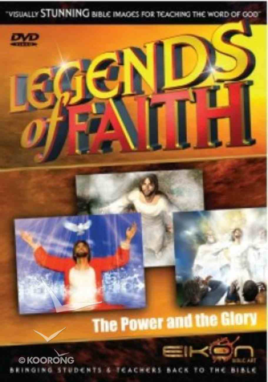 The Power and the Glory (DVD Rom) (Legends Of Faith Dvd Series) Dvd-rom