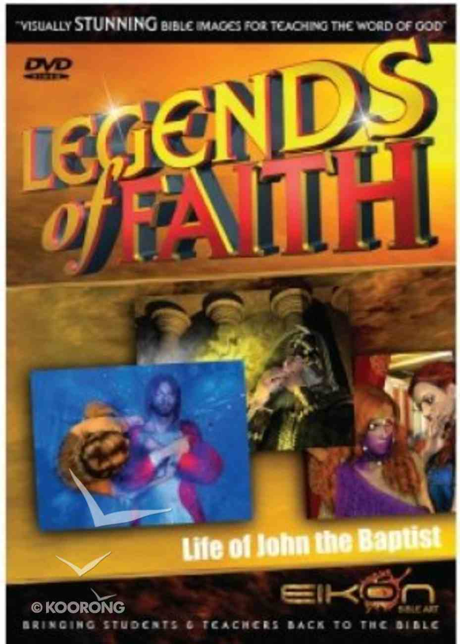 Life of John the Baptist (DVD Rom) (Legends Of Faith Dvd Series) Dvd-rom