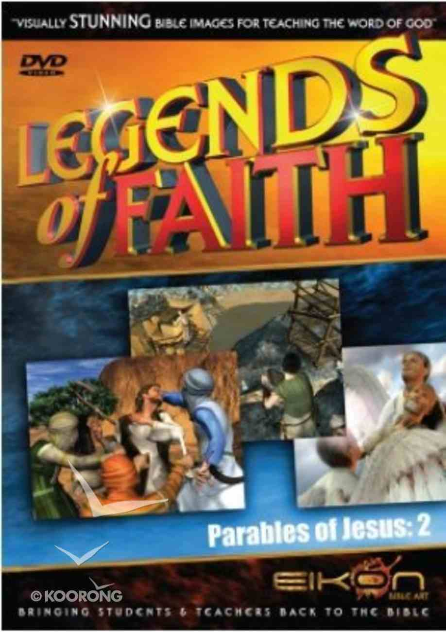 Parables of Jesus 2 (DVD Rom) (Legends Of Faith Dvd Series) Dvd-rom