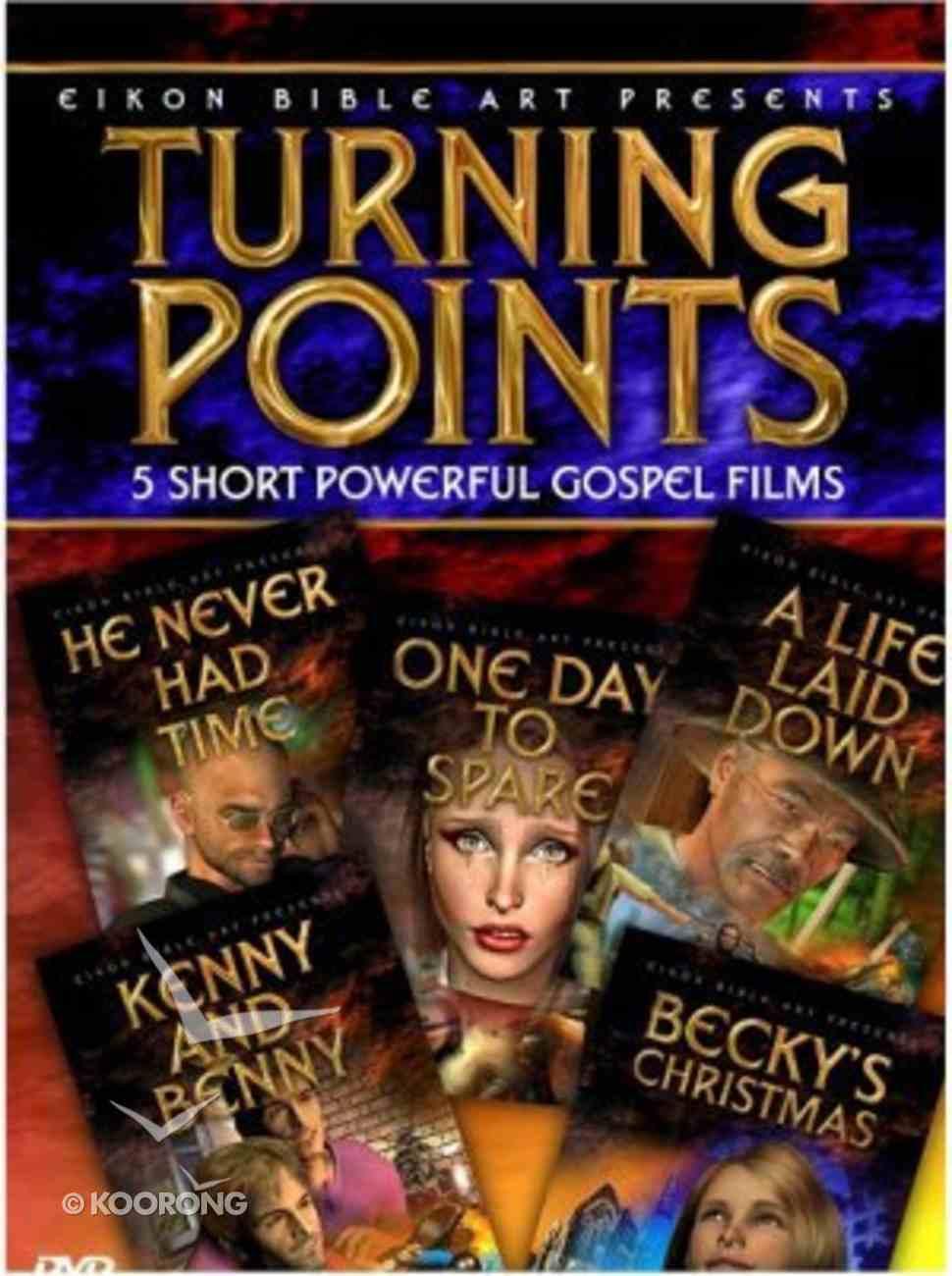 5 Short Powerful Gospel Films (Turning Points Dvd Series) DVD