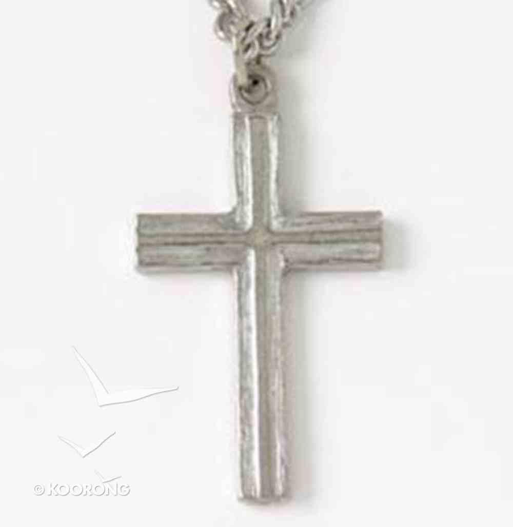 Pendant: Cross Raised (Pewter) Jewellery