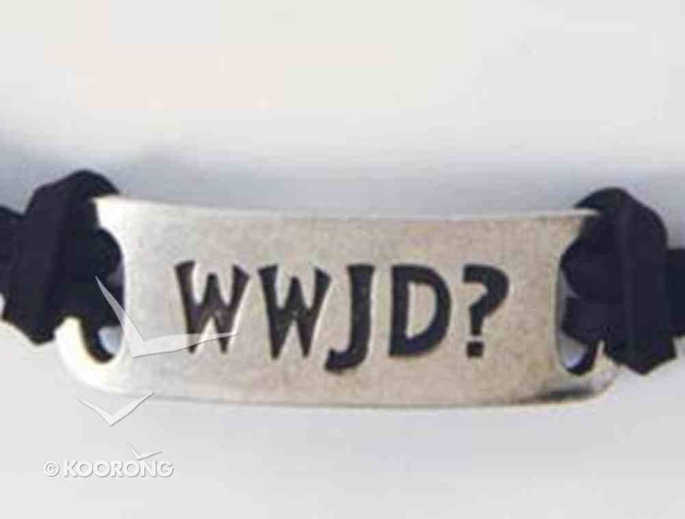 Adjustable Bracelet: Wwjd Jewellery