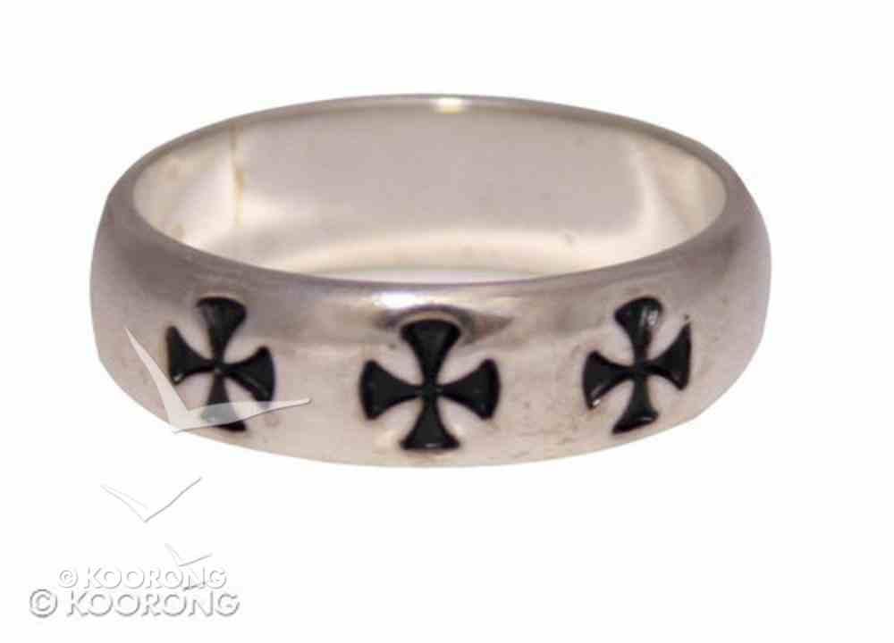 Ring: Cross Patee Size 08 (Sterling Silver) Jewellery