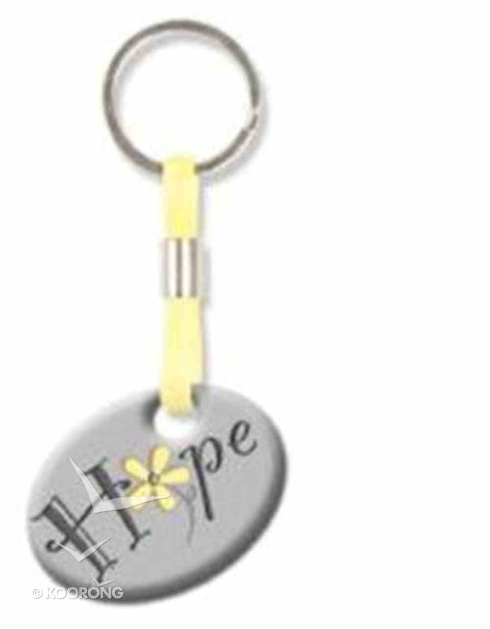 Pebble Keyring: Hope Flower Jewellery