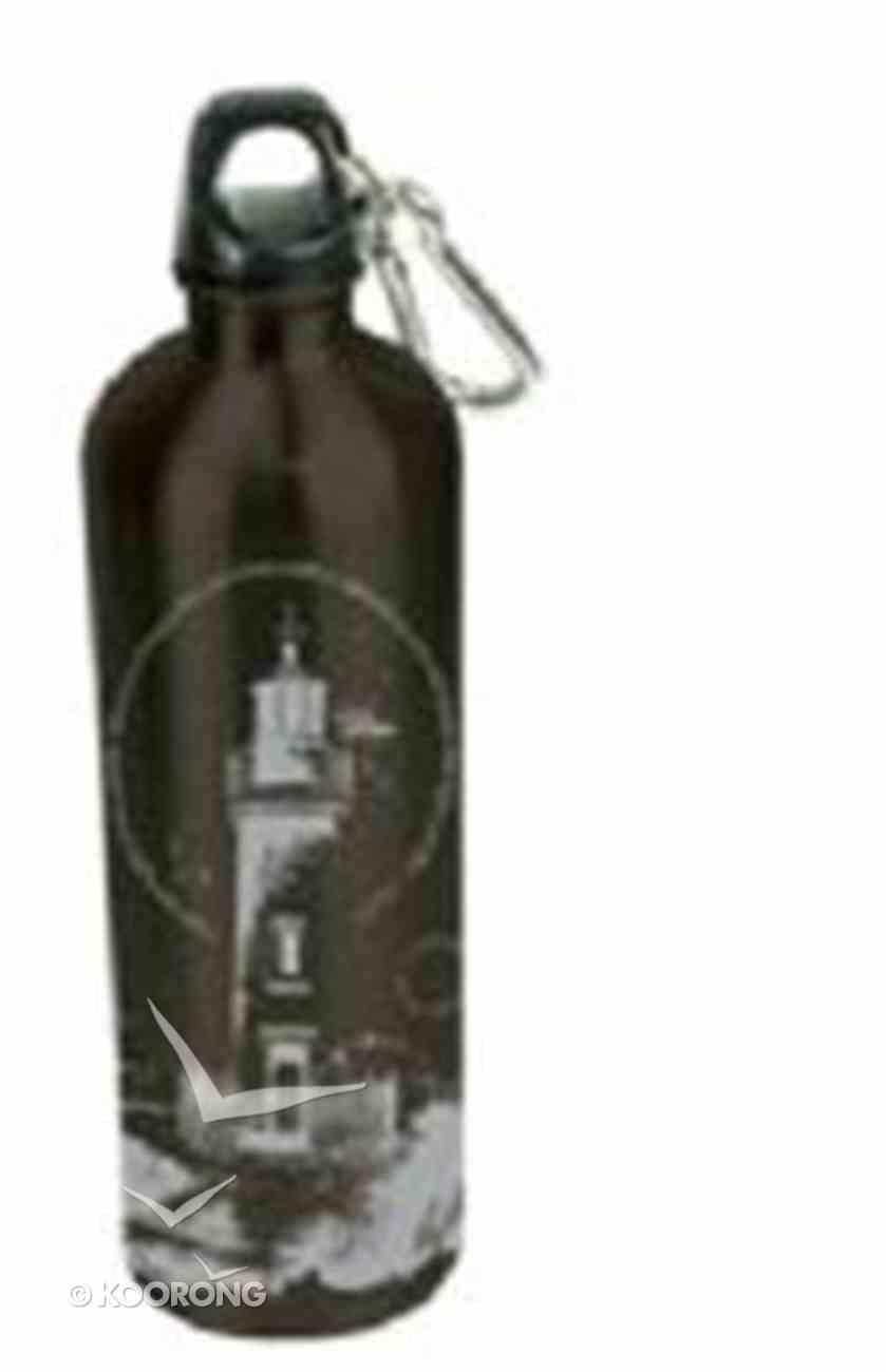 Water Bottle 750ml Stainless Steel: Lighthouse Homeware