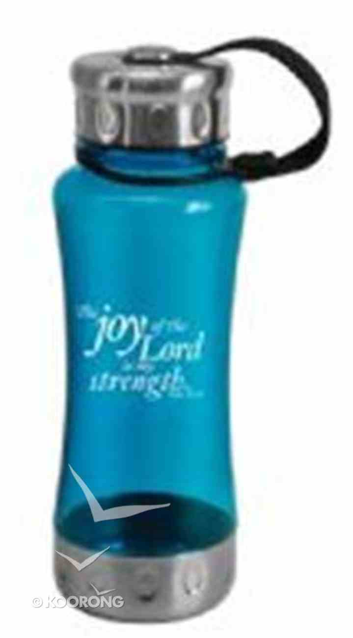 Water Bottle 600ml: Blue the Joy of the Lord (Cold Drinks Only) Homeware
