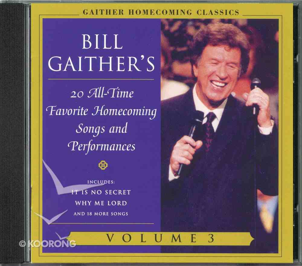 Gaither Homecoming Classics (Vol 3) CD