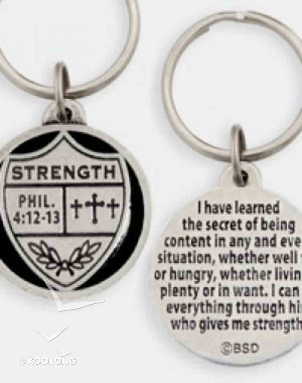 Keyring: Medals of Hope: Strength (Lead Free Pewter) Jewellery