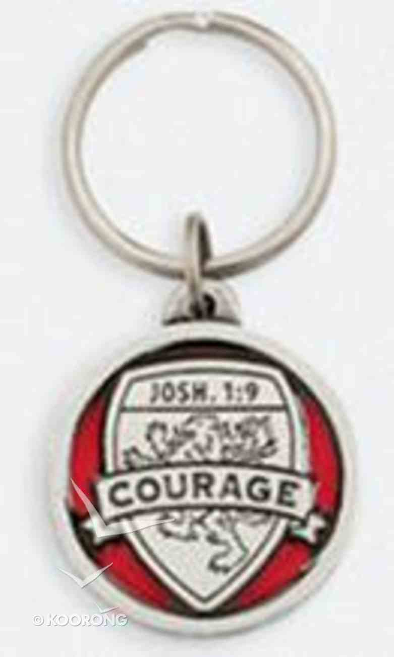 Keyring: Medals of Hope: Courage (Lead Free Pewter) Jewellery