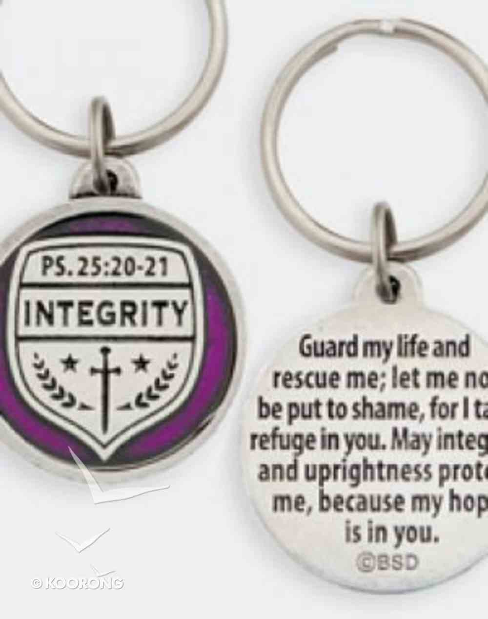 Keyring: Medals of Hope: Integrity (Lead Free Pewter) Jewellery