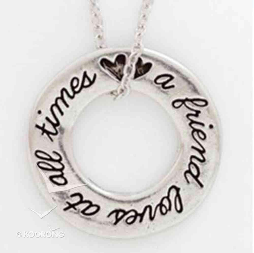 Pendant: Organic: Friends (Lead-free Pewter) Jewellery