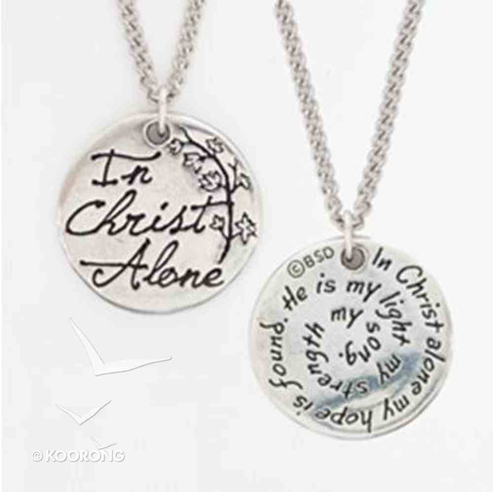 Pendant: Songs of Worship: In Christ Alone (Lead-free Pendant) Jewellery