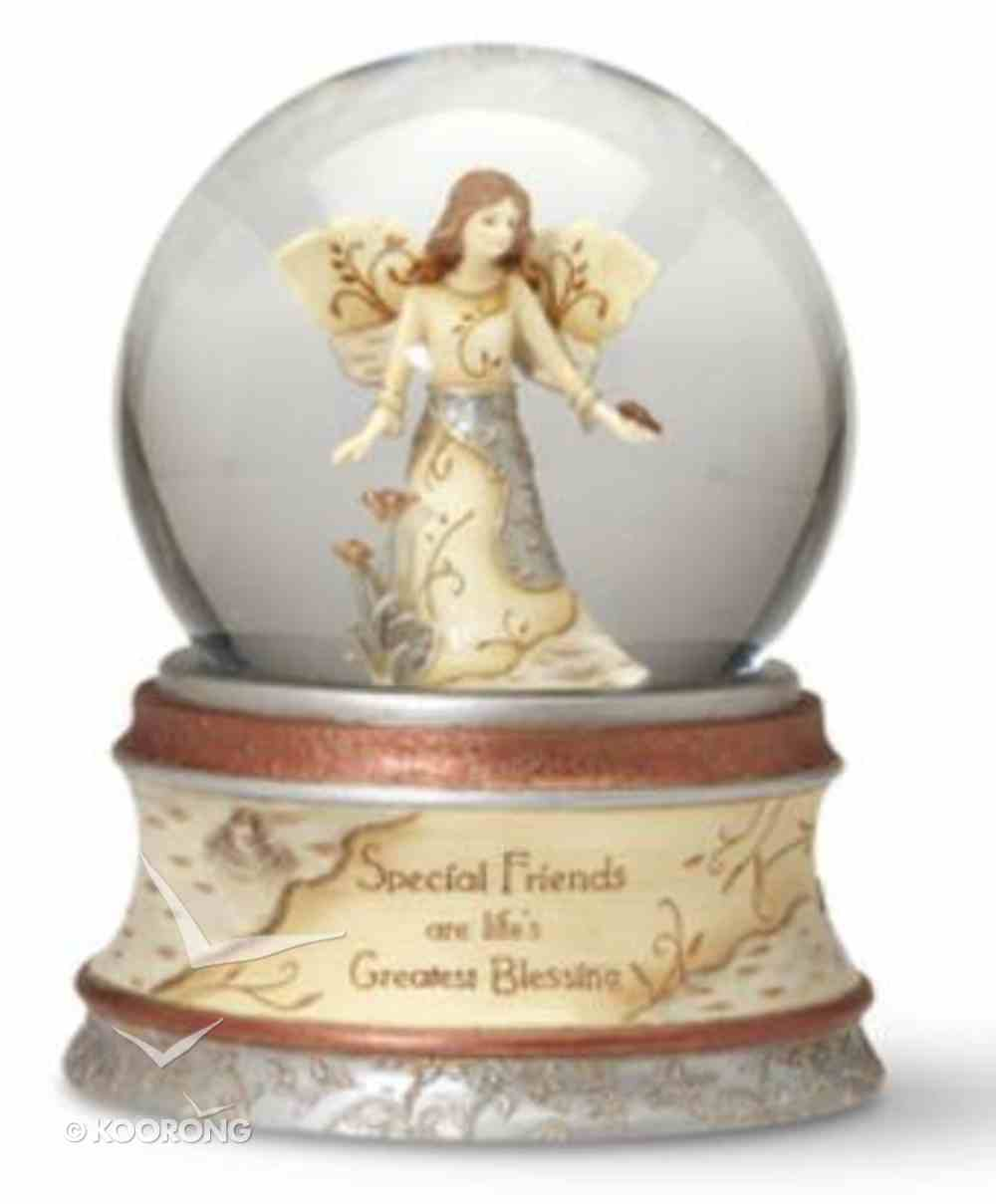 Elements Musical Water Globe: Special Friends Are Life's Greatest Blessing Homeware