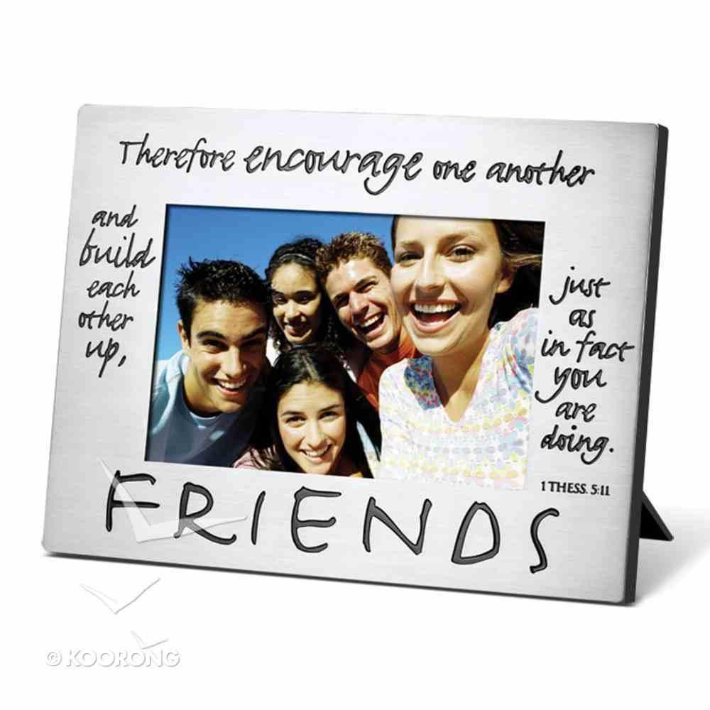 Pewter Photo Frame: Friends Homeware