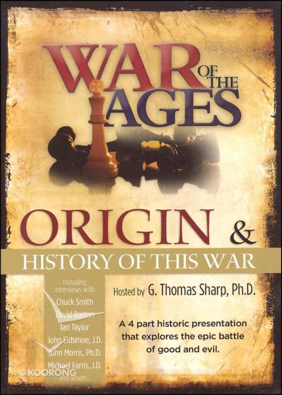 War of the Ages: Origin and History of the Wars DVD