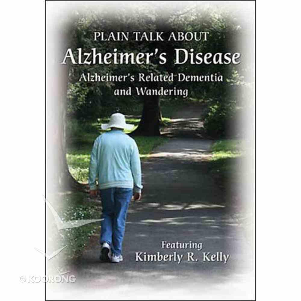 Plain Talk About Alzheimer's Disease DVD