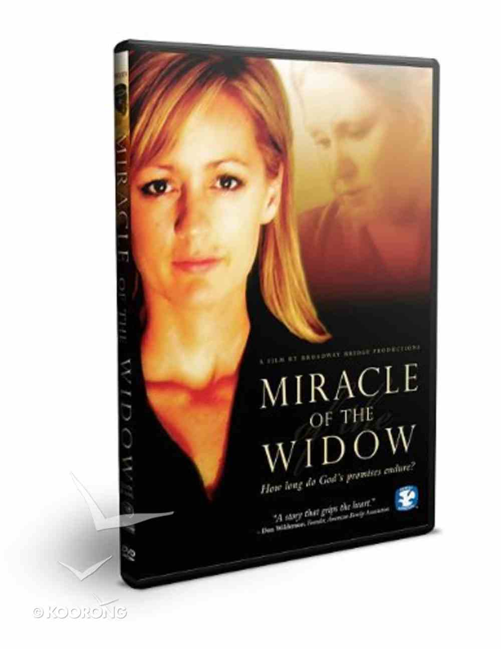 Miracle of the Widow DVD