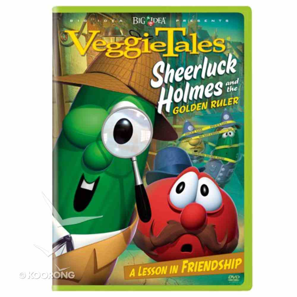 Veggie Tales #26: Sheerluck Holmes and Golden Ruler (#026 in Veggie Tales Visual Series (Veggietales)) DVD
