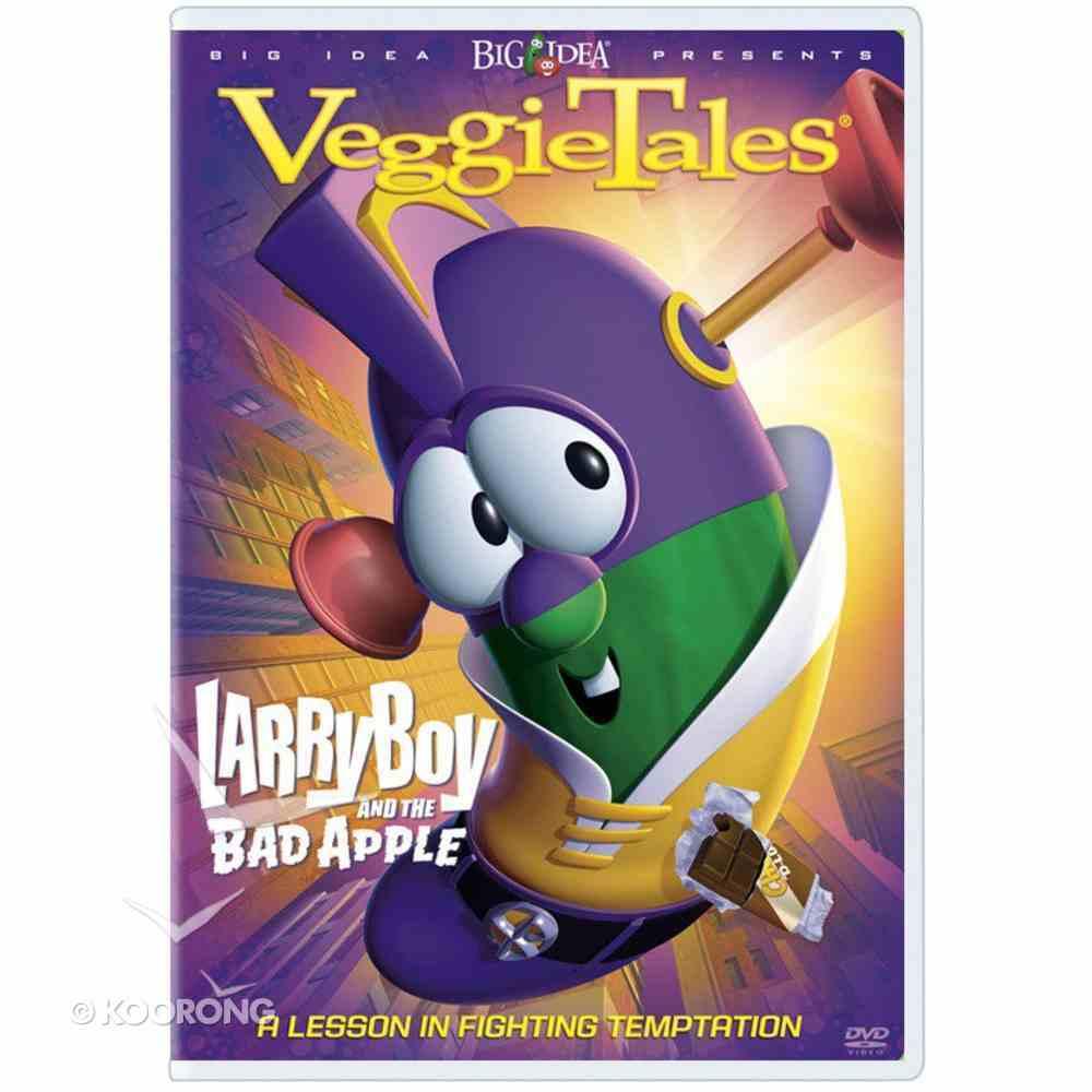 Veggie Tales #27: Larryboy and the Bad Apple (#027 in Veggie Tales Visual Series (Veggietales)) DVD