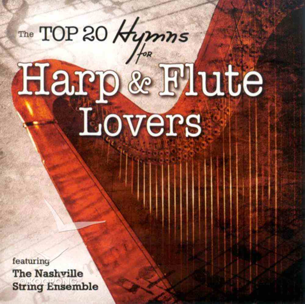 Top 20 Hymns For Harp and Flute Lovers CD