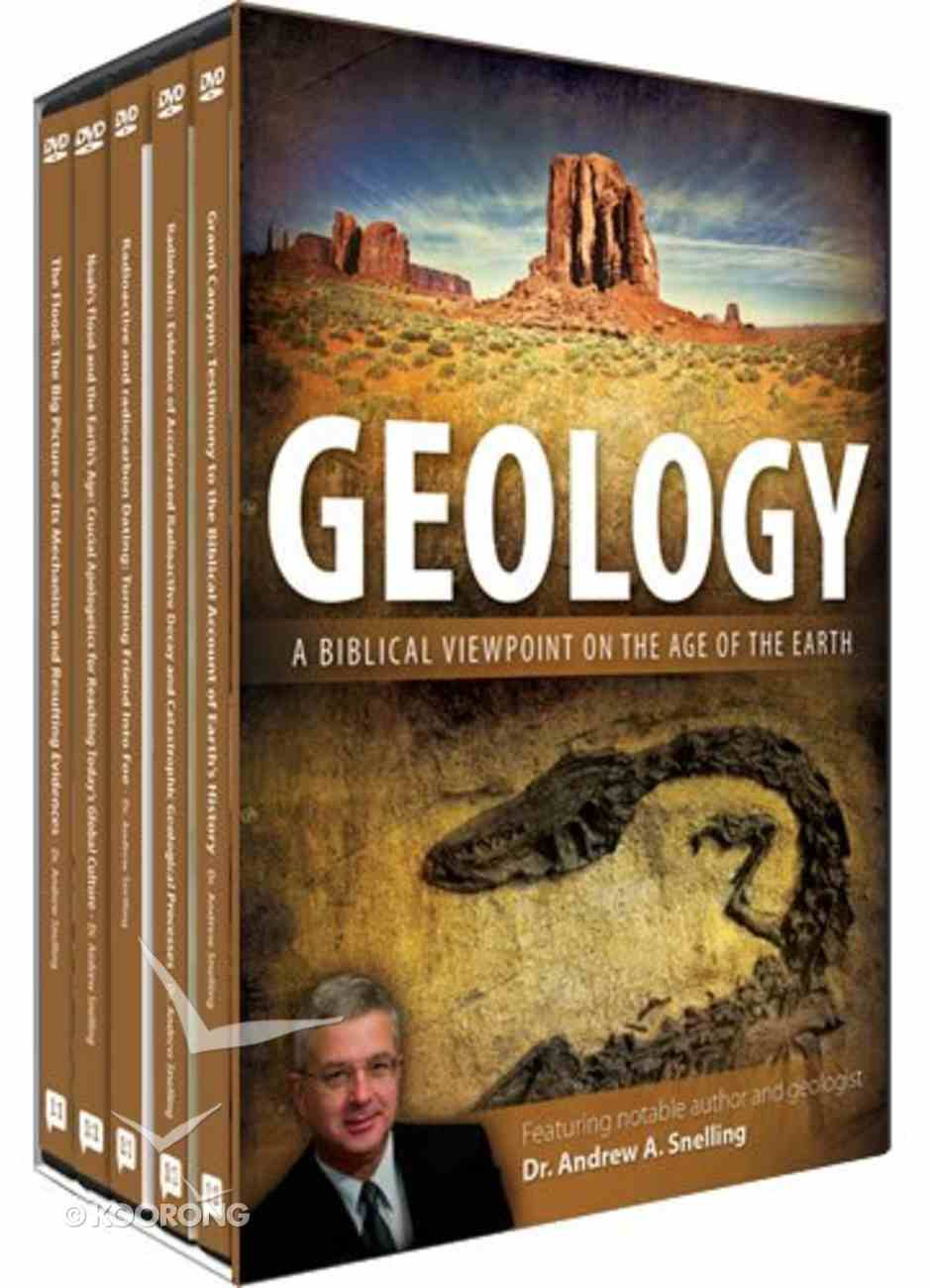 Geology: A Biblical Viewpoint on the Earth DVD