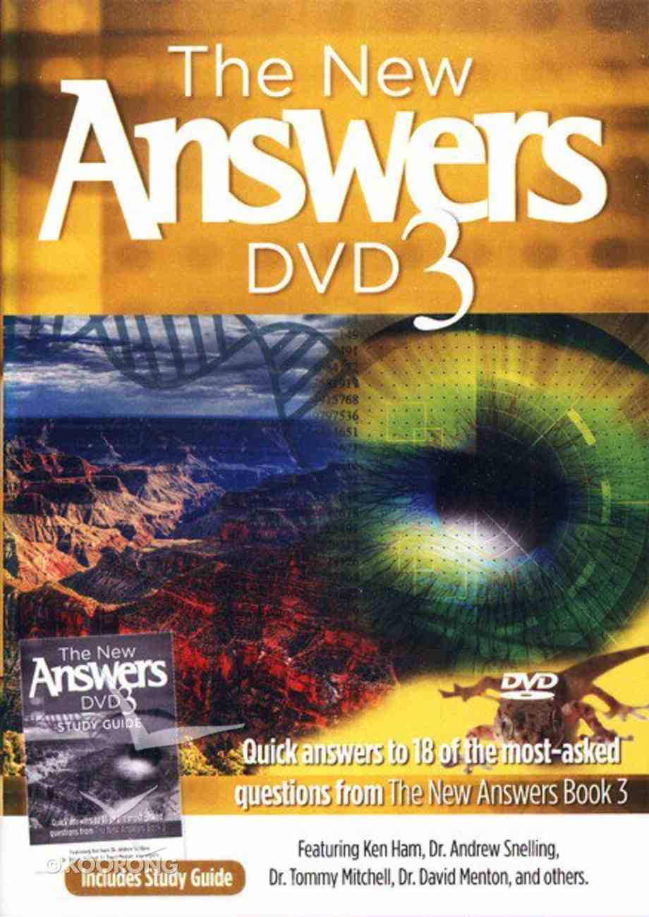 The New Answers Book 3 DVD