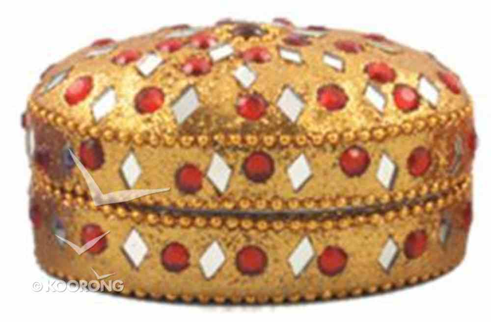 Trinket Box Oval Gold (Empowering The Poor Series) Jewellery