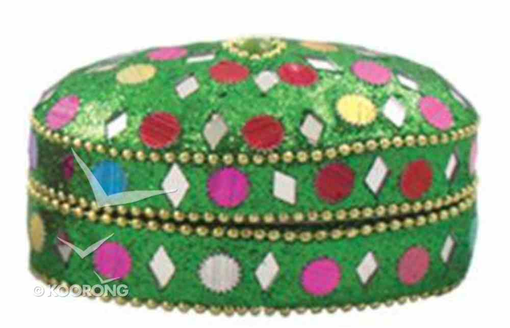 Trinket Box Oval Green (Empowering The Poor Series) Jewellery