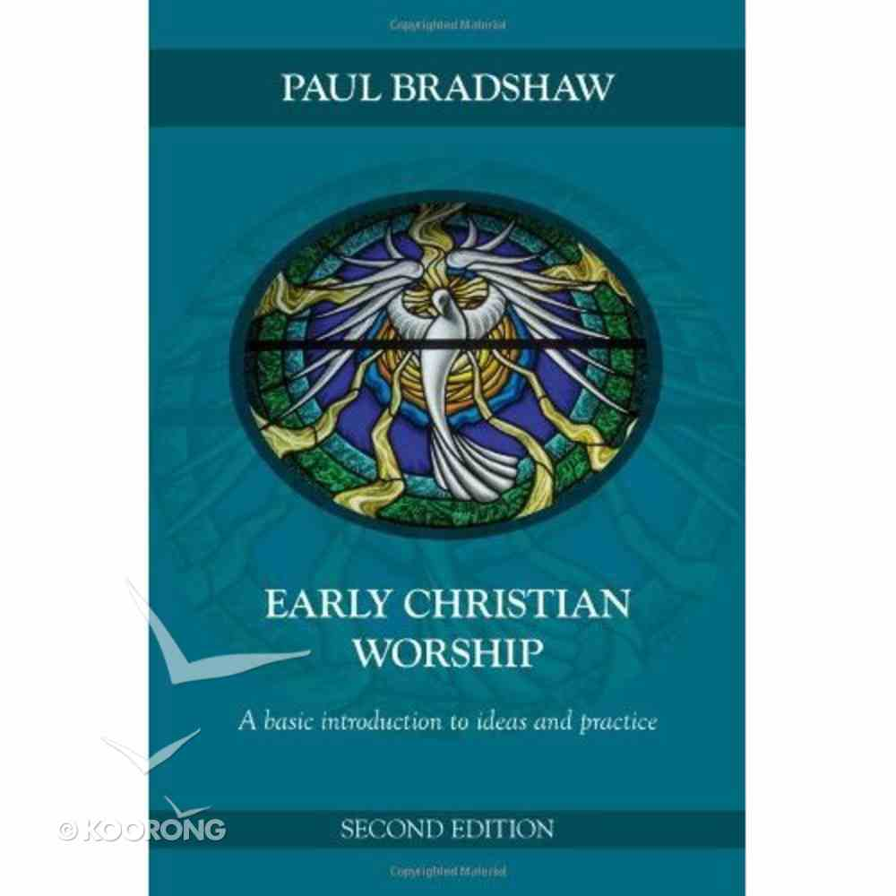 Early Christian Worship Paperback