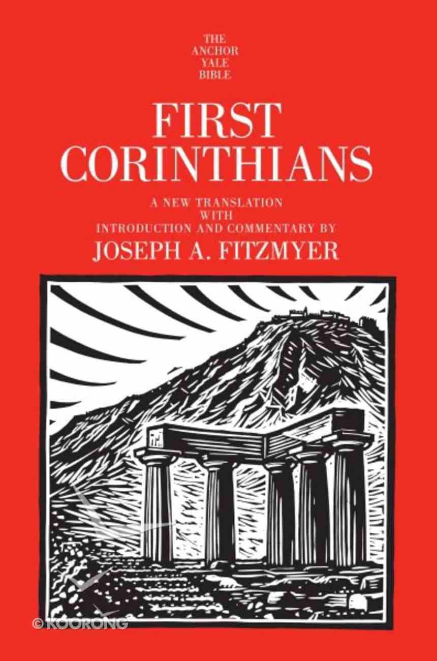 1 Corinthians (Anchor Yale Bible Commentaries Series) Hardback