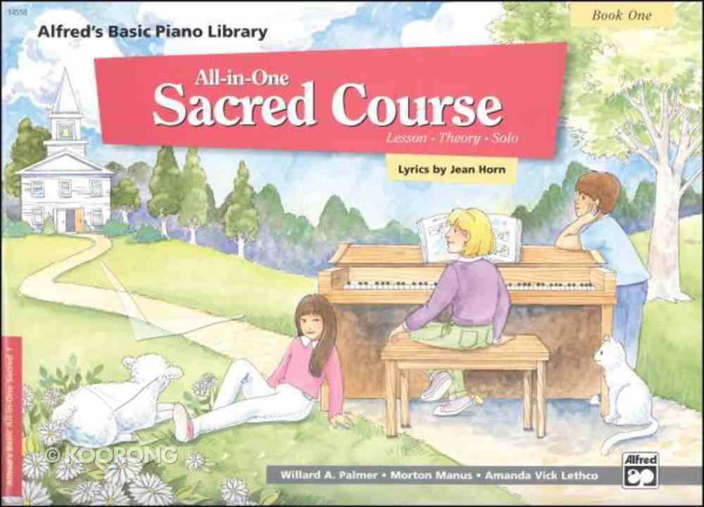 Alfred's Basic All-In-One Sacred Course For Children Book 1 (Music Book) Paperback