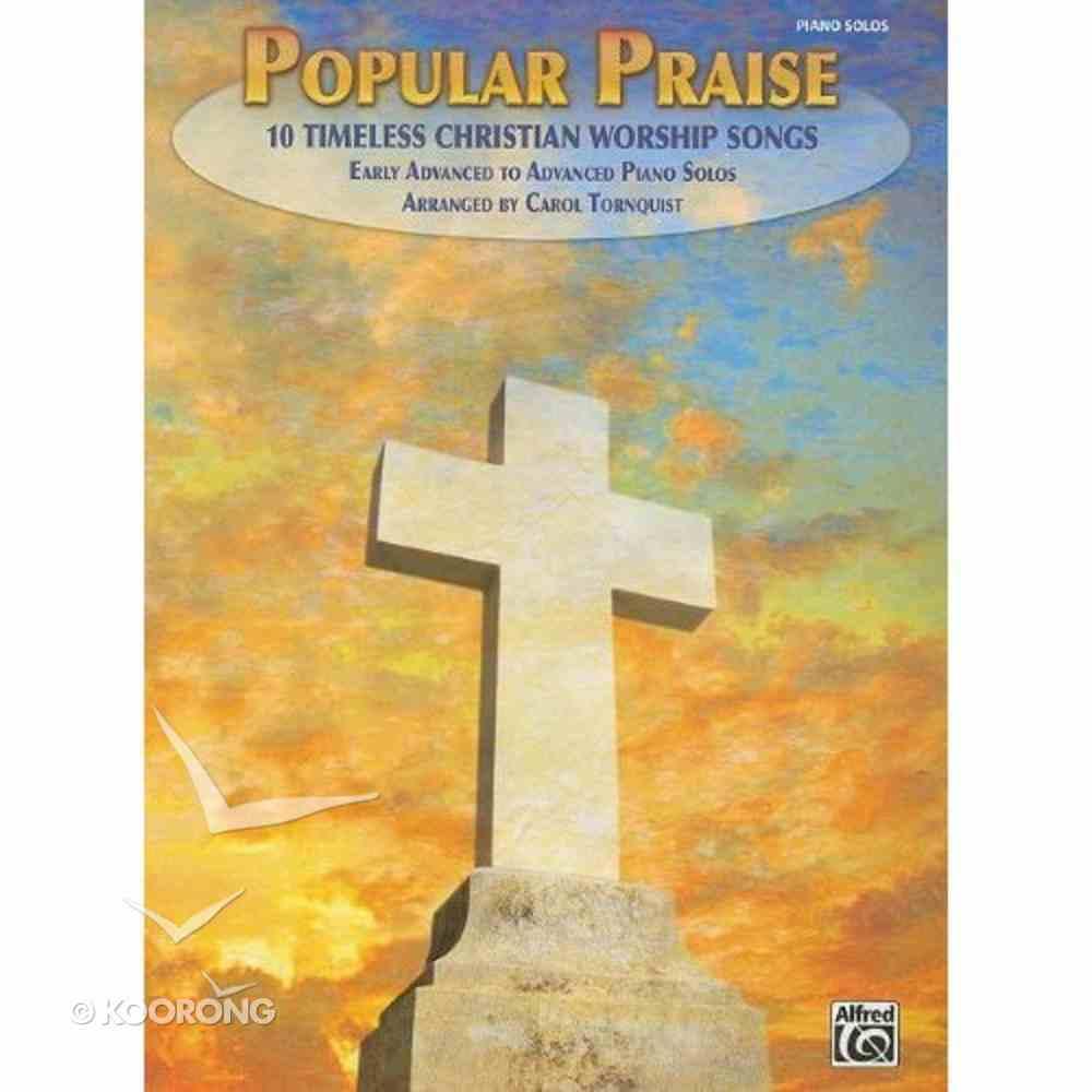 Popular Praise Easy Piano (Music Book) Paperback