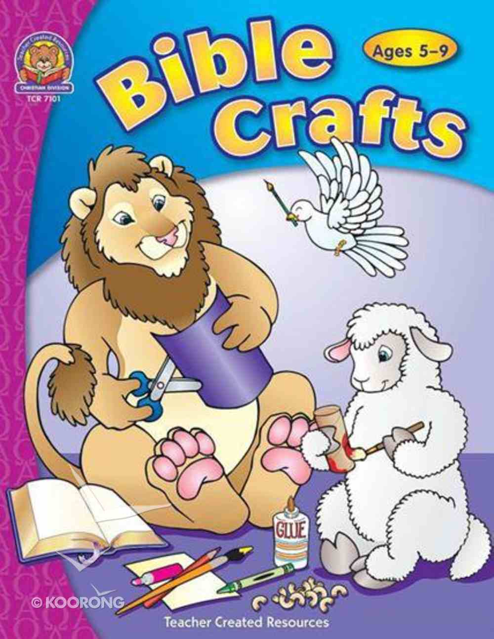 Bible Crafts (Teacher Created Resources Series) Paperback