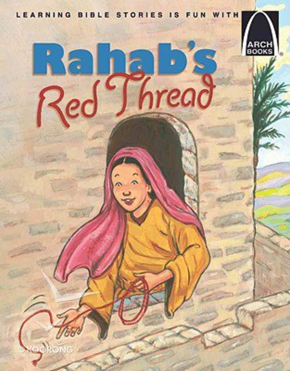 Rahab's Red Thread (Arch Books Series) Paperback