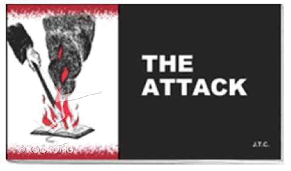 Chick: The Attack (25 Pack) Booklet