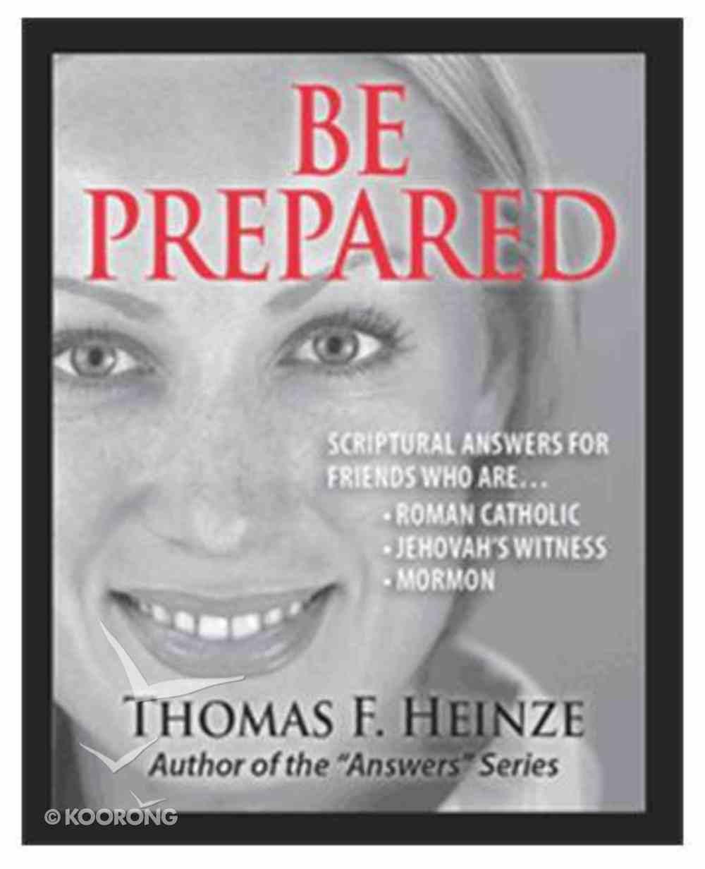 Be Prepared Booklet