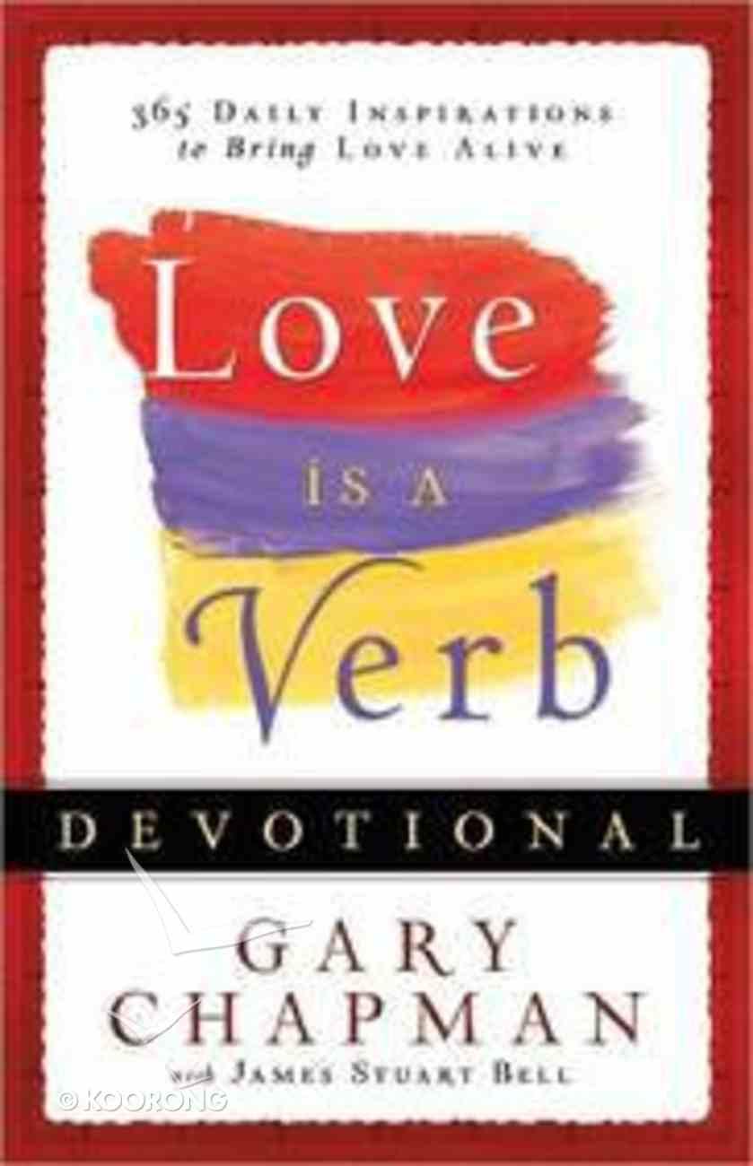 Love is a Verb Devotional Hardback