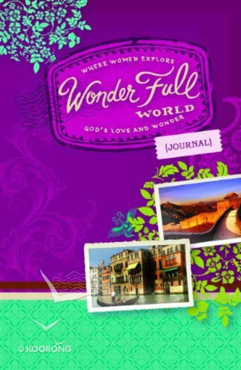 Wonder Full World Journal Paperback
